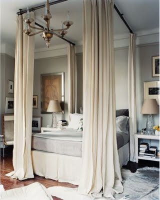 This is a prime example of understated luxury that's not at all over the  top,  Romantic Luxury Bed with Canopy ...