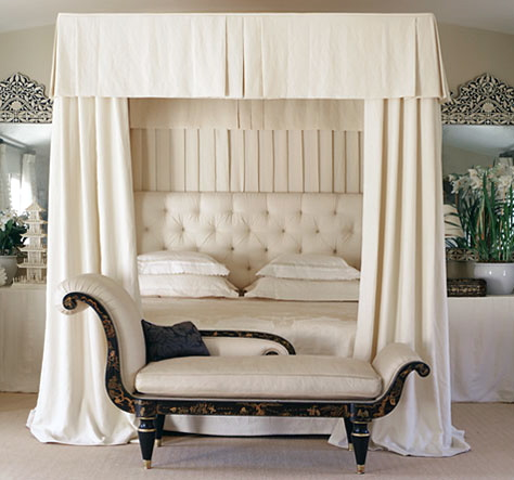 A Very Chic Canopy Bed By Mary Macdonald