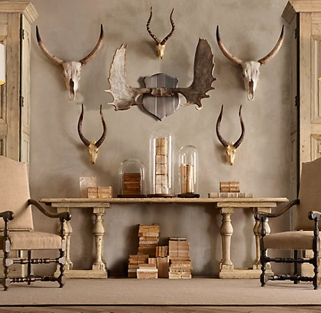 Decorating With Antlers Gretha Scholtz