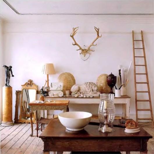 Eclectic Gray Greige Antler Decor White Home Decorating Ideas Home Decorators Catalog Best Ideas of Home Decor and Design [homedecoratorscatalog.us]